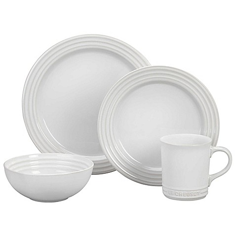 Le Creuset® Dinnerware Collection in White at Bed Bath & Beyond in Cypress, TX | Tuggl