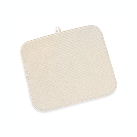 The Original Dish Drying Mat In Cream Bed Bath Amp Beyond