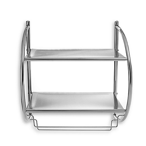 Double Shelf Towel Rack at Bed Bath & Beyond in Cypress, TX | Tuggl