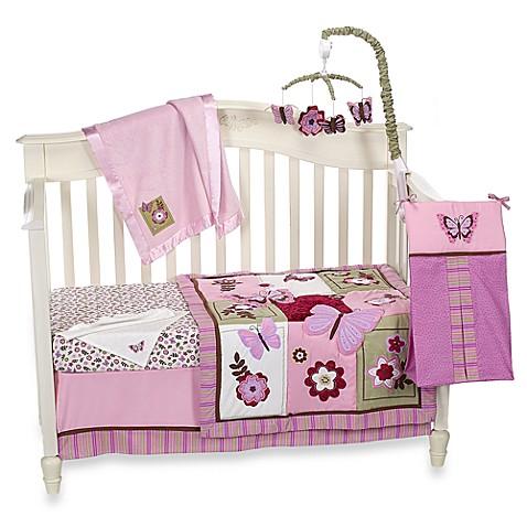 Nojo Butterfly Crib Bedding