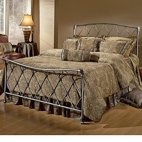 Hillsdale silverton bed set with rails bed bath beyond - Bed bath and beyond bedroom furniture ...