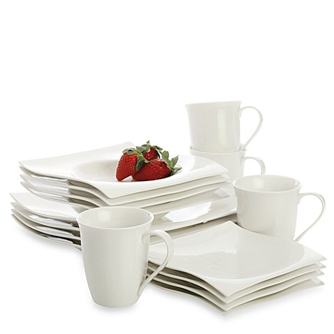 Maxwell & Williams™ White Basics Motion Dinnerware and Serveware Collection at Bed Bath & Beyond in Cypress, TX | Tuggl