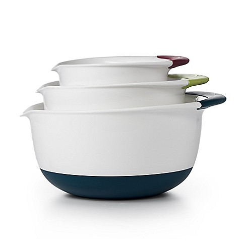 OXO Good Grips® 3-Piece Mixing Bowl Set at Bed Bath & Beyond in Cypress, TX | Tuggl