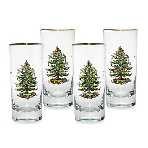 Spode Christmas Glasses