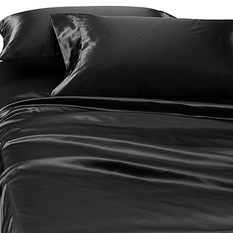 buy satin luxury deep pocket california king sheet set in
