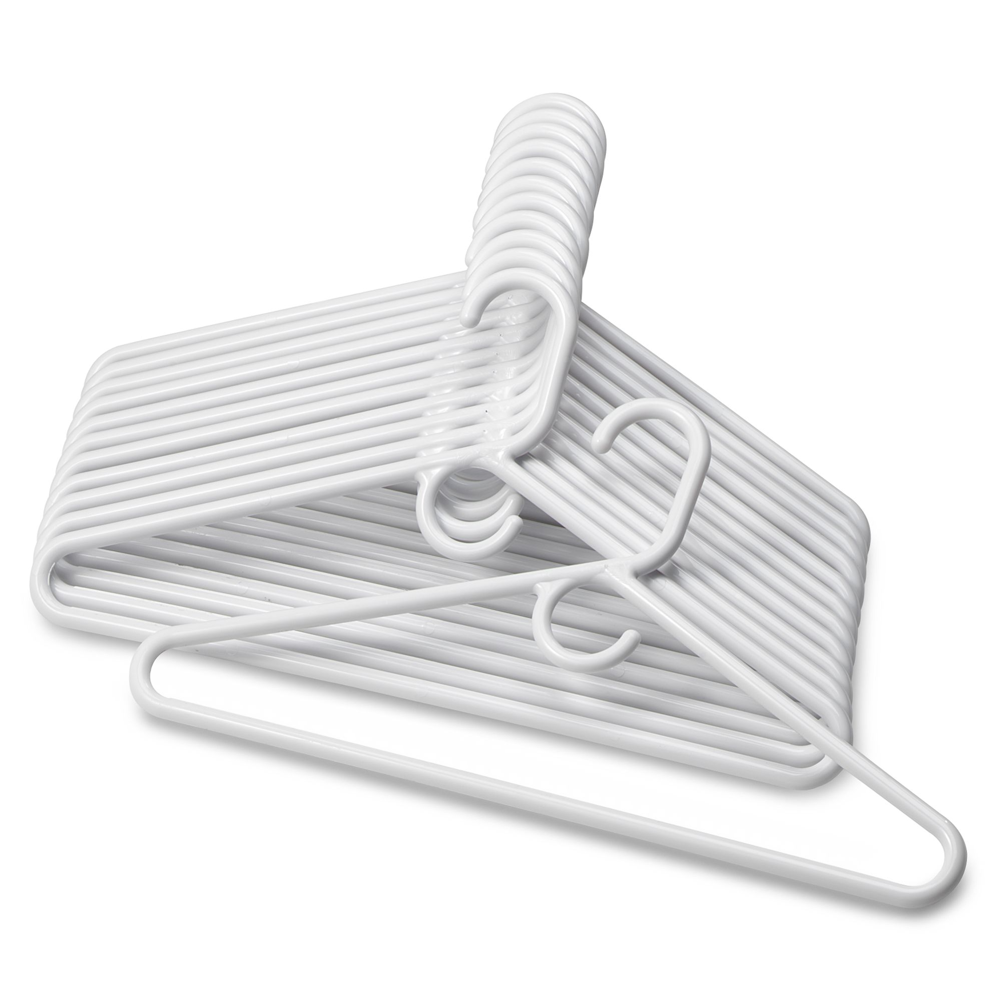 Salt™ 12 Pack Heavyweight Hangers In White by Bed Bath And Beyond