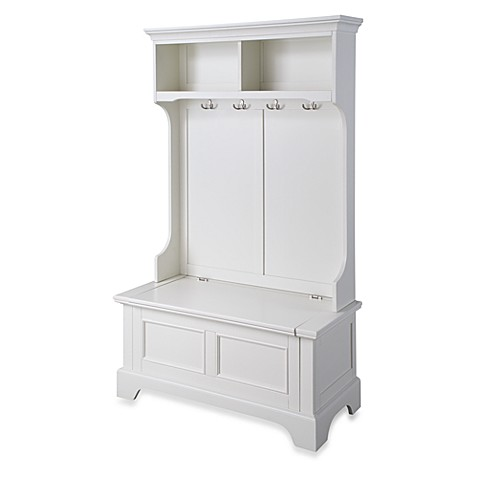 Home Styles Naples Hall Tree and Storage Bench at Bed Bath & Beyond in Cypress, TX | Tuggl