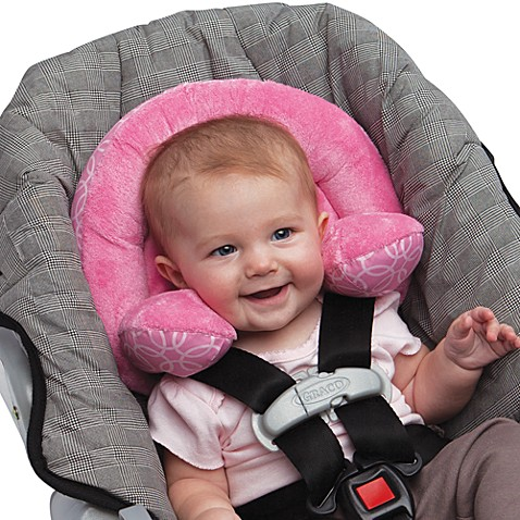 car seat accessories boppy infant and toddler head support in pink from buy buy baby. Black Bedroom Furniture Sets. Home Design Ideas