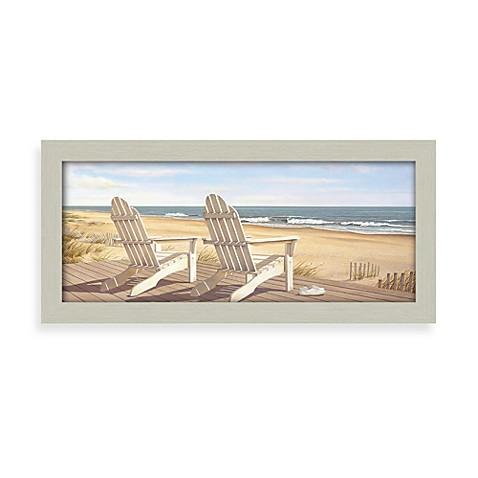 Hampton Beach Chair Wall Art Bed Bath Amp Beyond