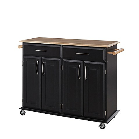 home styles dolly madison kitchen rolling island cart kitchen carts amp portable kitchen islands bed bath amp beyond