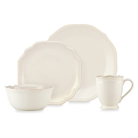 Lenox® French Perle Bead White Dinnerware Collection at Bed Bath & Beyond in Cypress, TX | Tuggl