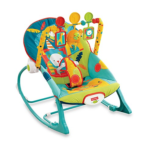 Fisher PriceR Worldwide Infant To Toddler Rocker