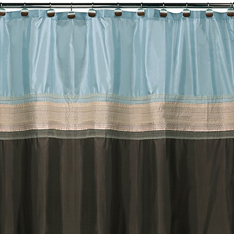 Blue And Brown Curtains | Modern Interior Decorating Ideas