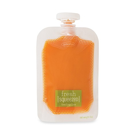 Infantino 174 Fresh Squeezed 50 Pack Squeeze Pouches