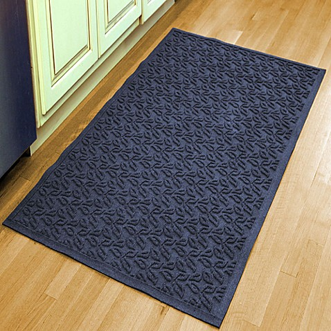 Weather Guard™ Leaf 34 1/2 Inch X 58 Inch Door Mat by Bed Bath And Beyond