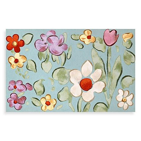Liora Manne Watercolor Flower Door Mat Bed Bath Amp Beyond