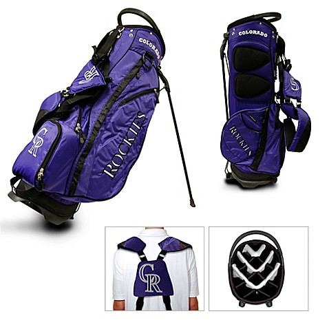 Colorado Rockies Fairway Stand Golf Bag From Mlb From