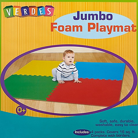 Verdes Jumbo Foam Playmat Buybuybaby Com