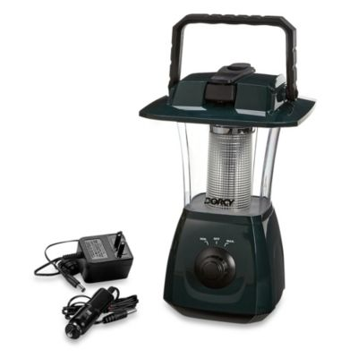 Dorcy 6-LED Rechargeable Dynamo Lantern with Self-Charging Hand Crank