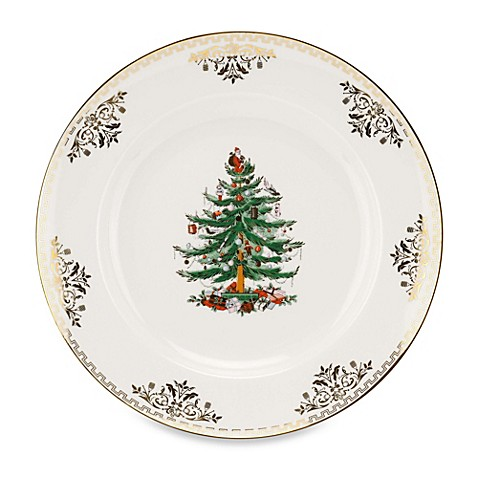 Buy Spode Christmas Tree Gold Salad Plate From Bed Bath Beyond