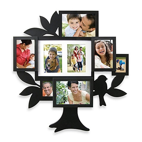 8-Picture Family Tree Collage Frame - BedBathandBeyond.ca