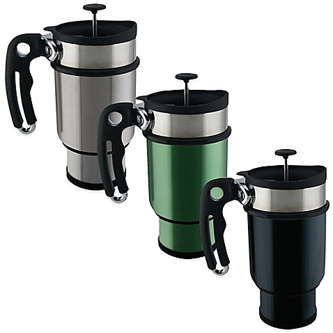 Planetary Design Double Shot 14 Oz French Press Travel