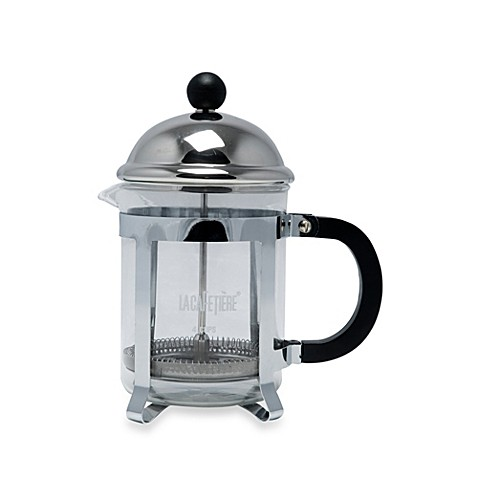 la cafetiere optima 4 cup classic chrome french press. Black Bedroom Furniture Sets. Home Design Ideas