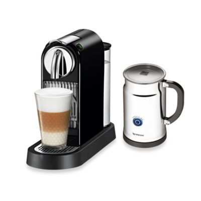 Nespresso Coffee Maker Bed Bath And Beyond : Nespresso Citiz & Milk Espresso Maker and Aeroccino Plus Bundles - Bed Bath & Beyond