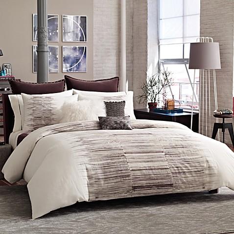 Kenneth Cole Reaction Home Landscape Duvet Cover Bed