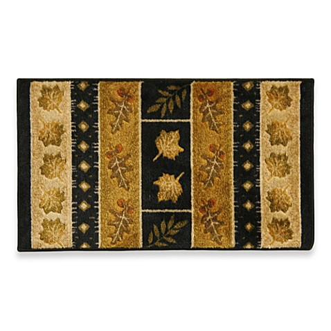 bacova southview rug in gold black bed bath beyond