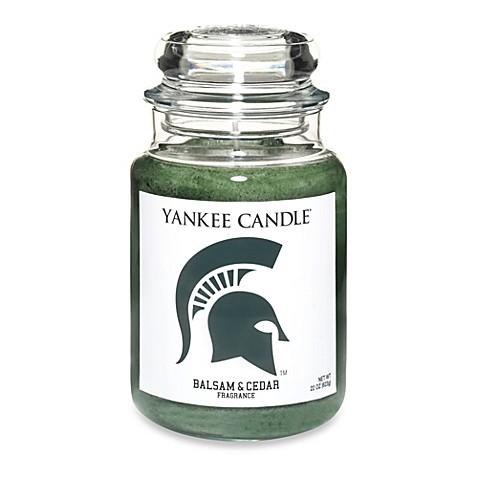 yankee candle michigan state university large jar fan