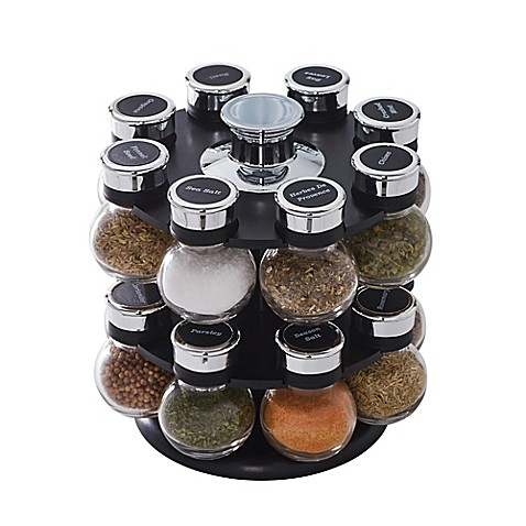 Kamenstein 174 Ellington 16 Jar Spice Rack Bed Bath Amp Beyond