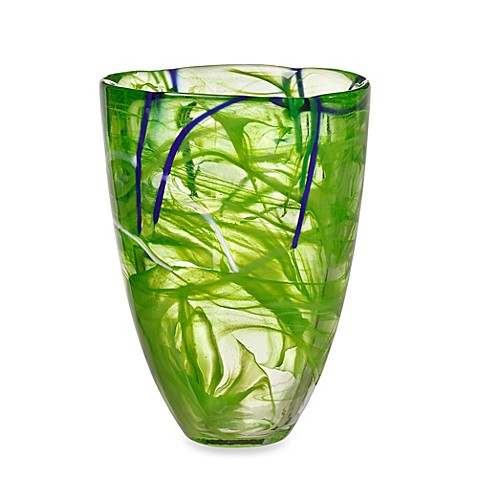 Buy Kosta Boda Contrast Vase In Lime From Bed Bath Amp Beyond