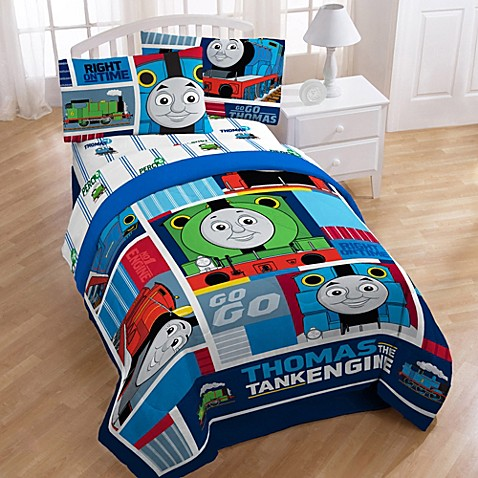 Thomas the train printed character bedding and accessories for Thomas the train bathroom set