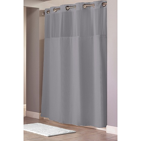 80 Inch Long Shower Curtain Shorter with Long Fabric S