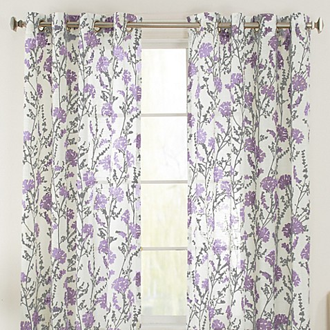Buy bethany grommet 108 inch window curtain panel in
