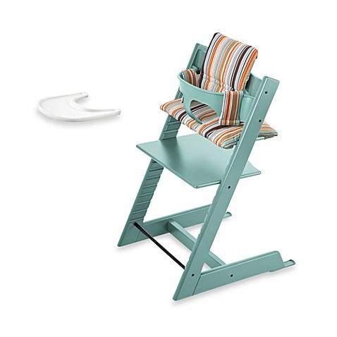 buy stokke tripp trapp high chair complete bundle in aqua from bed bath beyond. Black Bedroom Furniture Sets. Home Design Ideas