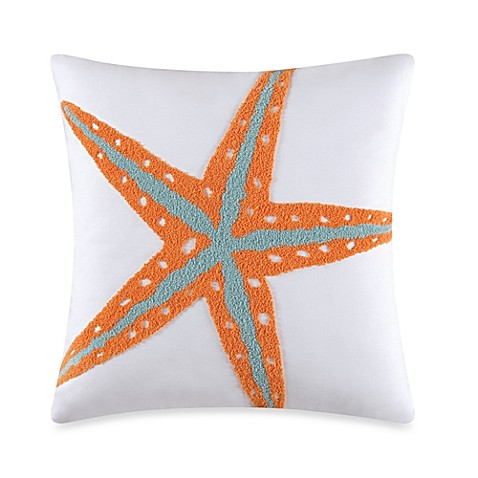 Buy Tufted Starfish Throw Pillow from Bed Bath & Beyond