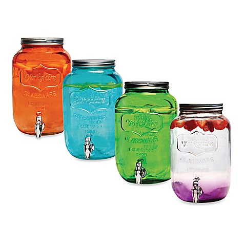Mason Jar 2 Gallon Beverage Dispenser Bed Bath Beyond