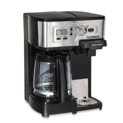 Best Coffee Maker Wirecutter : Hamilton Beach FlexBrew 2-Way Coffee Maker - Bed Bath & Beyond