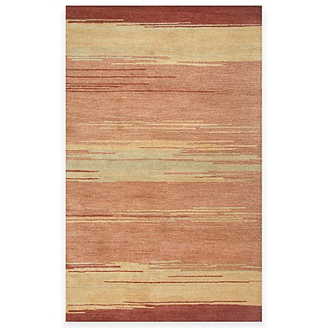 Mojave Area Rugs In Red Beige Bed Bath Amp Beyond