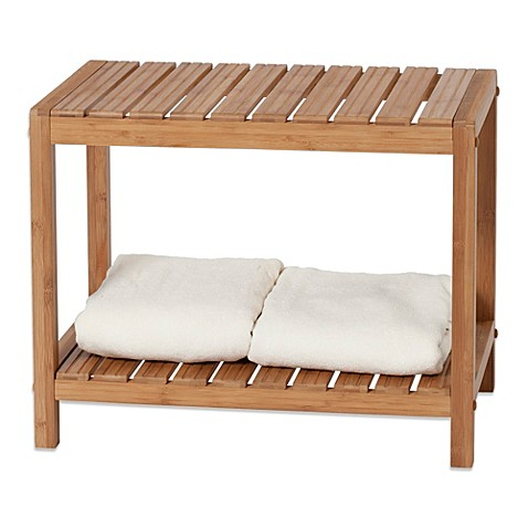 Creative Bath EcoStyles Bamboo Spa Vanity Bench at Bed Bath & Beyond in Cypress, TX | Tuggl
