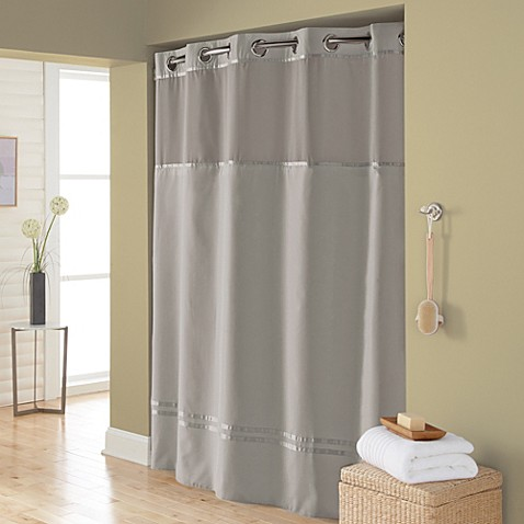 Buy Hookless Escape 71 Inch X 74 Inch Fabric Shower Curtain And Shower Curta