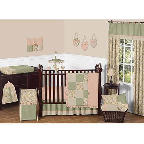 Sweet jojo designs annabel crib bedding collection bed bath amp beyond