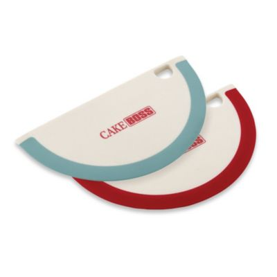 Cake Decorating Kit Bed Bath Beyond : Cake Boss Bowl Scrapers in Red (Set of 2) - Bed Bath & Beyond