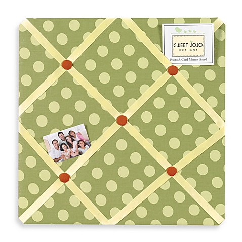 how to make a fabric memo board