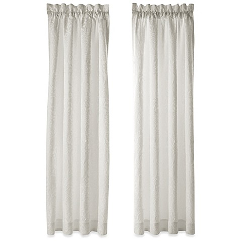 Buy J Queen New York Chantilly 84 Inch Window Curtain Panel Pair From Bed Bath Beyond