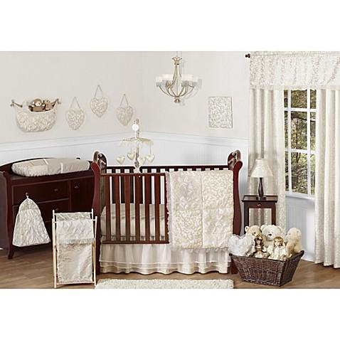 Sweet jojo designs victoria crib bedding collection bed for Sweet jojo designs bathroom