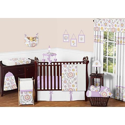 Sweet Jojo Designs Suzanna Crib Bedding Collection In