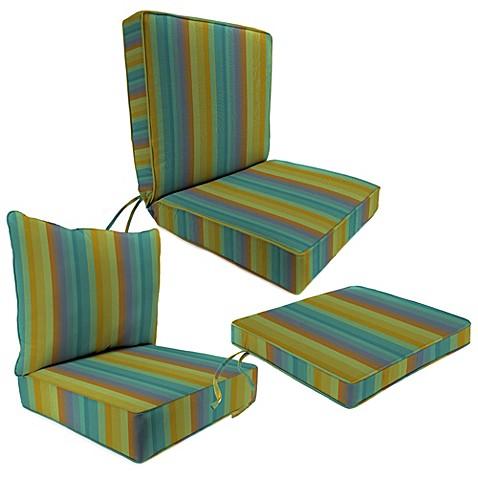 Outdoor Seat Cushion Collection Sunbrella Astoria Lagoon Bed Bath Amp Beyond